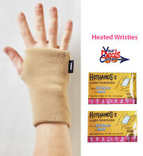 Wristies Practice Gloves- HEATED Adult Small- Camel