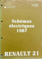 1986 RENAULT R 21 SCHEMAS ELECTRIQUES 1987 MANUEL