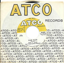 Ben E King:Too bad/My heart cries for you:US Atco:Northern Soul-Popcorn