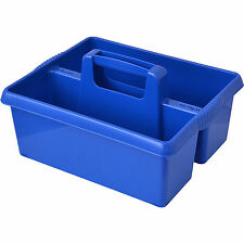 Wham BLUE plastic handy kitchen cleaning tool box utility caddy storage tidy