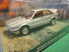 JAMES BOND CARS COLLECTION MASERATI BITURBO 425 LICENCE TO KILL