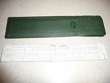 CASTELL 111/54A Slide Rule /  Addiator With Case - USED