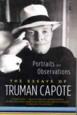 Portraits and Observations: The Essays of Truman Capote Modern Library Paperbac