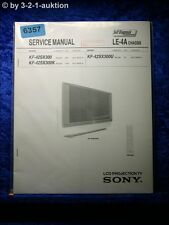 Sony Service Manual KF 42SX300 /K /U LCD Projection TV (#6357)