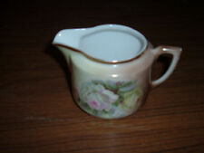Vintage CT Altwasser Silesia hand painted cream pitcher roses