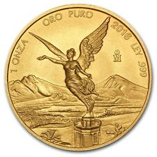 2016 Mexico 1 oz Gold Libertad Brilliant Uncirculated - SKU #105222