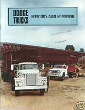 Truck Brochure - Dodge - D800 et al - Heavy-Duty Gasoline - c1967 (TB992)