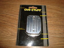 NEW Sno Stuff Billet Snowmobile Master Cylinder Cover Ski Doo 108-401