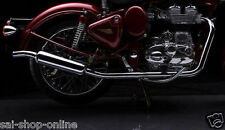 Customised Off Roader Free Flow Silencer/Exhaust for Royal EnfieldClassic Bullet