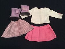 Genuine American Girl Doll Clothes-acogedor a cuadros Outfit #2