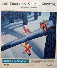 DISNEY'S BACK AGAIN MAKE MINE MUSIC November 10 1945 IWO JIMA US MARINES ITALY