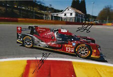 Kraihamer, Imperatori Hand Signed Rebellion Racing 12x8 Photo Le Mans 2016 8.