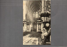 Belgium Ghent Cathedral St Bavon Nave unposted A97