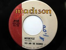 TICO & TRIUMPHS 45 Motorcycle / I don't believe them PAUL SIMON Doowop   e3240