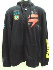 NEW SHIFT RACING MEN MOTOCROSS BRIGADE FRONT ZIP HOODY L LARGE R-60
