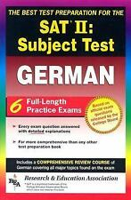 SAT II Subject Test: German  -- The Best Test Preparation for the SAT II (Test P