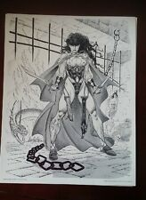 "1993 ""Angels of Death"" Rich Larson Portfolio, Fantasy posters, Dragons Skeletons"