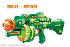 NEW Super 20 series turbine electric soft NERF gun sniper toys