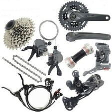 SHIMANO ALIVIO M4000 3x9/27 Speed MTB Complete Groupset With M315 Brake&G3 Rotor