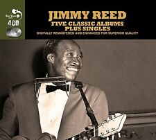 Jimmy Reed FIVE (5) CLASSIC ALBUMS PLUS Rockin' With AT CARNEGIE HALL New 4 CD