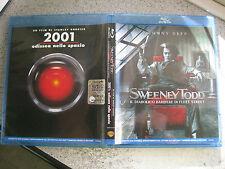 2 FILM IN BLU RAY  (  SWEENEY TODD // 2001 ODISSEA NELLO SPAZIO ) OTTIMO