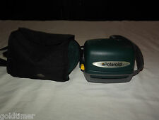 VINTAGE POLAROID 600 ONE STEP EXPRESS  INSTANT CAMERA WITH CARRIER
