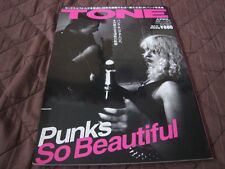 Tone Japan Magazine Punk Sex Pistols Clash Stone Roses Joy Division Smiths Oasis