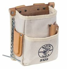 Klein Tools 5125 5 Pocket Tool Pouch Canvas