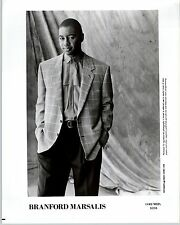 RARE Original Press Photo of Branford Marsalis a Jazz Singer and Saxophonist