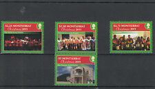 Montserrat 2011 MNH Christmas 4v Set Choral Group Singers Volpanics Church