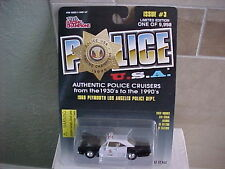 Racing Champions Police 1968 Plymouth Los Angeles Police Dept.