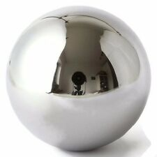 "One Large 5"" Inch Chrome Solid Steel Bearing Ball G100 / 18.44 Pounds"