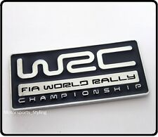 WRC World Rally Badge Emblem Decal Subaru STI WRX Turbo Car Impreza blue 99b