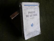POLICE DE GUERRE (1914-1919) H. Maunoury 1ere guerre Mondiale Contre-Espionnage