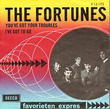 FORTUNES - You've Got Your Troubles (FAVORIETEN EXPRES SINGLE DUTCH PS)