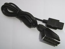 N64 Nintendo 64 (PAL UK EURO AUS) Scart AV TV Cable Lead (screened) Stereo Sound