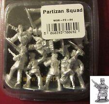Bolt Action WGB-PZ-24 WWII Partizan Squad (10) 28mm Miniatures Partisans Militia