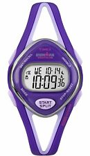 Timex Women's T5K654 Ironman Purple 50-Lap Resin Digital Watch
