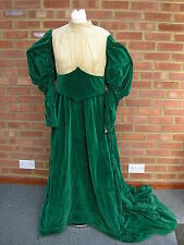 Victorian Costume Edwardian Fancy Dress Halloween Pantomime Cosplay Stage 36/38""