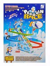 Penguin CORSA RUNNING GO salire scorrevole verso il basso con luci lampeggianti + MUSIC KIDS