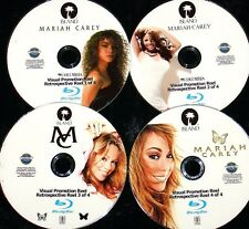 MARIAH CAREY Visual Promotion Reel 4 BLU-RAY DVD Set 83 Music Videos FREE SHIP