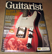 GUITARIST MAGAZINE~JUNE 2001~HAPPY 50th TELE/P.BASS +  BACKING TRACK CD EX/EX