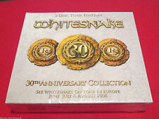 WHITESNAKE - 30TH ANNIVERSARY COLLECTION - NEW 3 CD SET