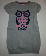 New Gymboree Sparkly Owl Sweater Dress 6 Year NWT Fairy Tale Forest