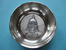 coupelle en métal argenté : S.A.V.G.