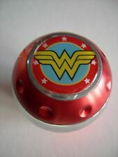 WONDER WOMAN ALUMINUM GEAR SHIFT KNOB TRANSMISSION KNOB SHIFTER RED