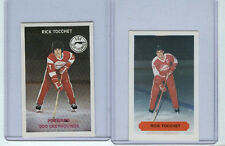 RICK TOCCHET SAULT STE MARIE/SOO GREYHOUNDS OHL ROOKIE CARD LOT x2 VERY RARE RC