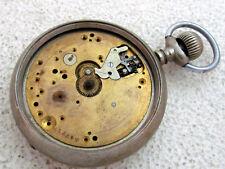 HENRY MOSER & Cie ANTIQUE 1910-1915 IWC SCHAFFHAUSEN SWISS WATCH for REPAIRING