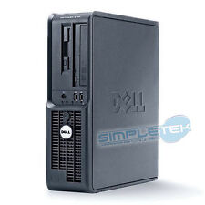 PC COMPUTER DELL OPTIPLEX 210L DESKTOP MINI CASE WINDOWS XP ORIGINALE, GARANZIA