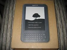 "*Ads Free* Amazon Kindle Keyboard 3, 3G + Wi-Fi, 6"", 4GB, D00901"